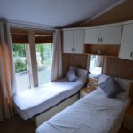 A further excellent feature is the immaculately finished second bedroom. With twin beds and ample storage space