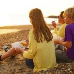 Fish Chips On Beach 1