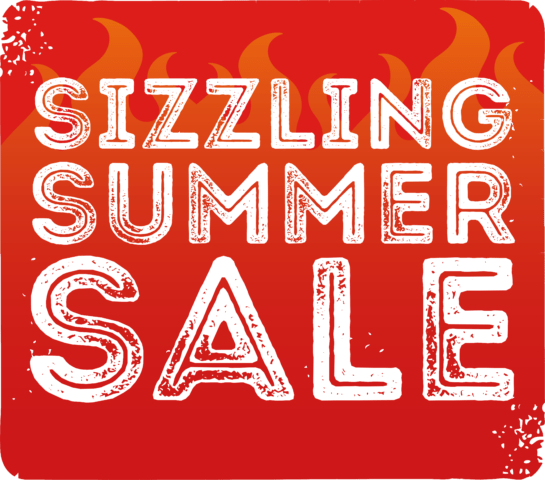 The Sizzling Summer Sale