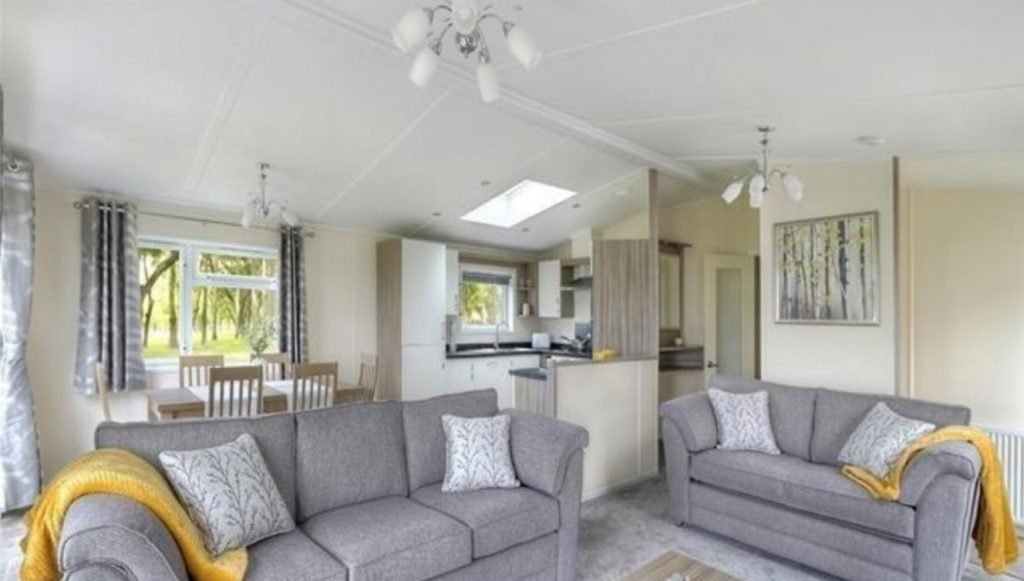 Luxury Lodge, Sun Haven Valley Holiday Park, Cornwall